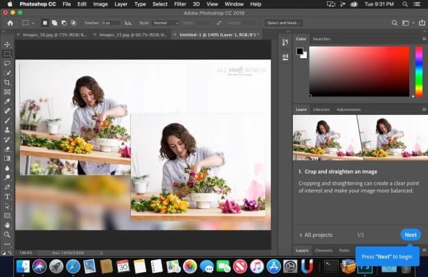 Adobe Photoshop CC 2019 v20.0.7 key