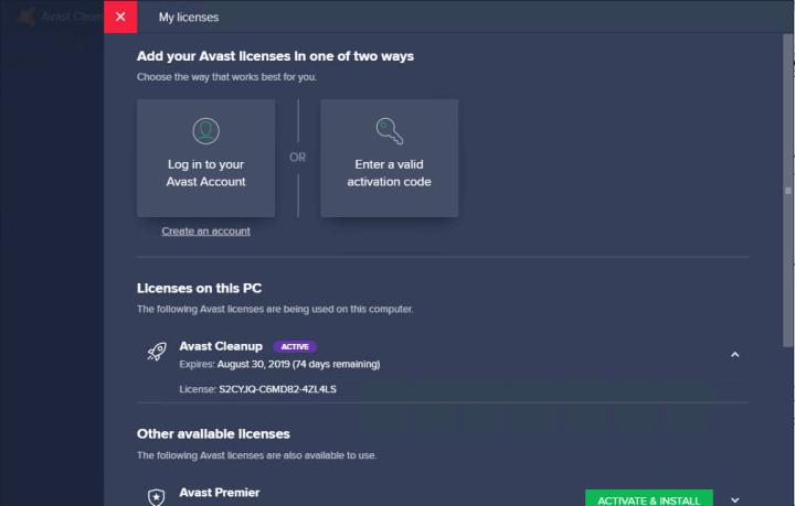 Avast Premium Security 19.8.2 Keygen
