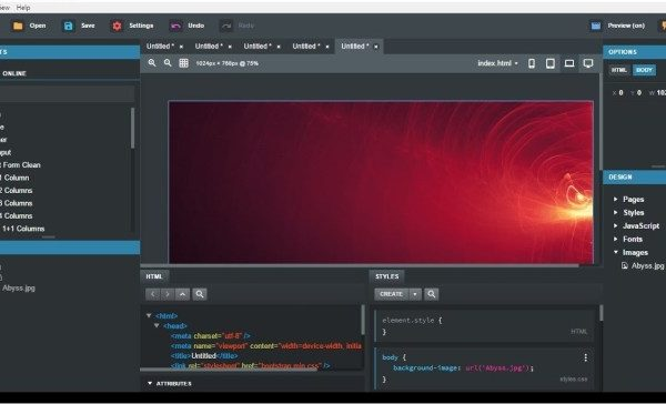Bootstrap Studio 4.5.8 free download