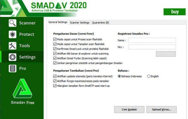 Smadav Antivirus PRO 2020 v13.3 Keygen