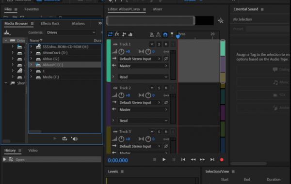 Adobe AuditionCC 2020 v13.0 serial key