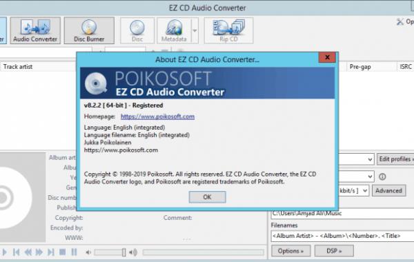 EZ CD Audio Converter 9.0.7 keygen