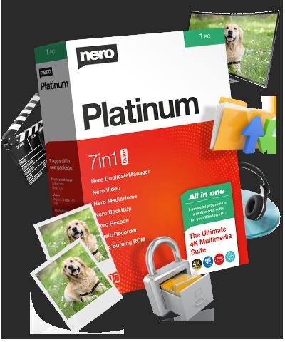 Nero Platinum 2020 Suite 22.0 license key