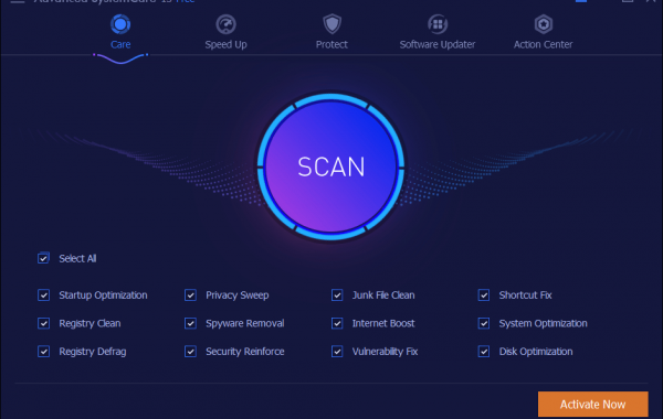 Advanced SystemCare Pro 13.2.0 key