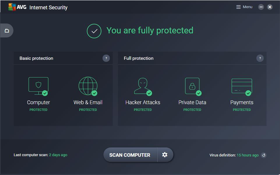 AVG Internet Security 20.1.31 crack