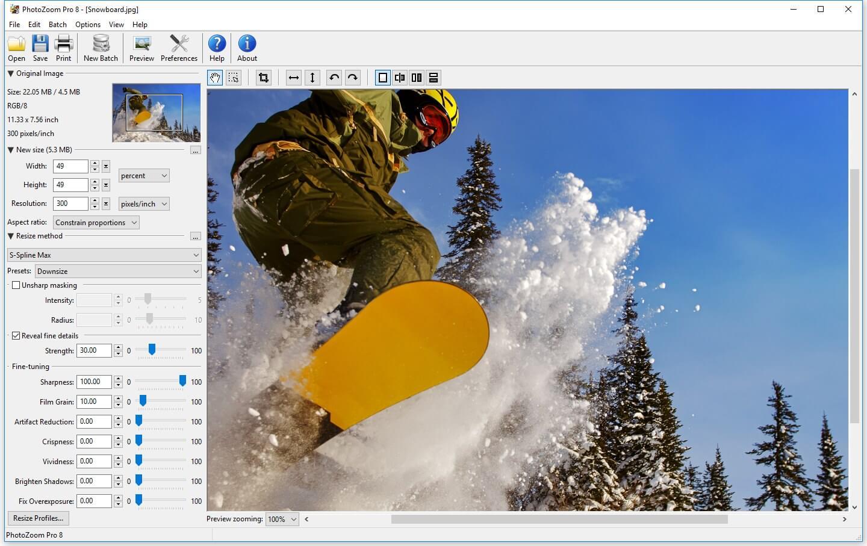 BenVista PhotoZoom Pro 8.0.6 serial key